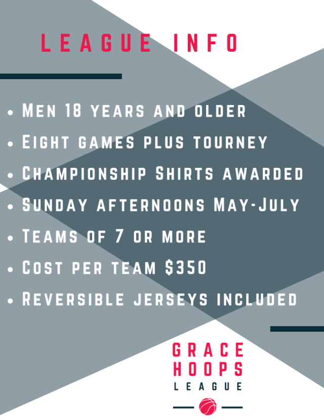 League Info GRACE HOOPS